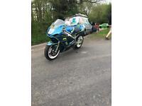 GSXR 600 k3 track bike