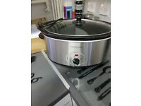Larged slow cooker it big not small 6.5l