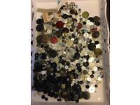 Job Lot Vintage Buttons