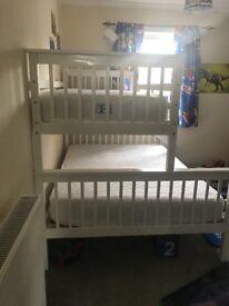 White Tripple Bunk Bed