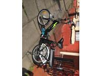 2 seater electric bike very fast 15mph never used can get 24 miles out of battery