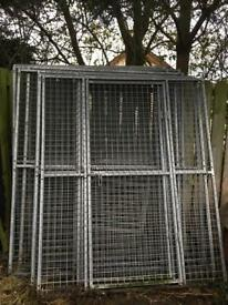 Dog pen / run (8 panels) ***SOLD***