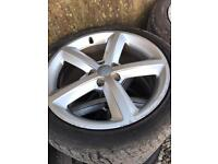 Audi A4 S Line wheels and tyres