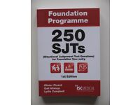 Foundation Programme: 250 SJTs for Foundation Year entry