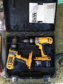 Joblot Of dewalt Drills £100 the lot ... LOOK AT PHOTOS !!