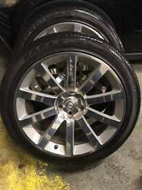 "++ 20"" CHRYSLER 300C SRT-8 ALLOYS ++ Jeep Dodge Voyager Patriot"