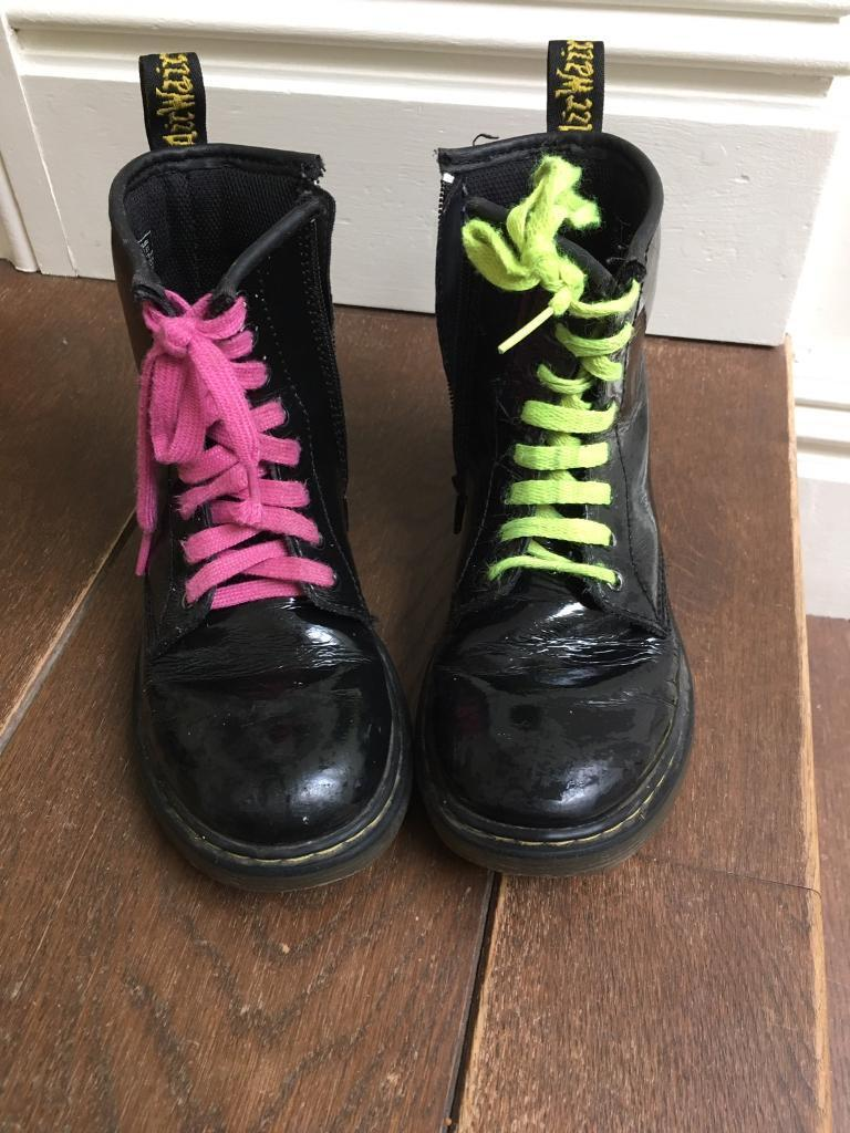 Size 1 kids junior Dr Martens, Uggs and converse