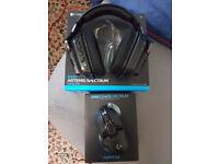 Logitech G933 Headset & Logitech G900 Mouse