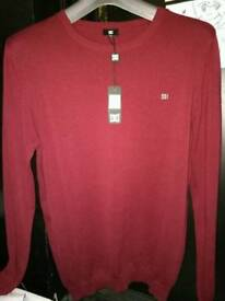 GioGoi red new with tags Men's jumper
