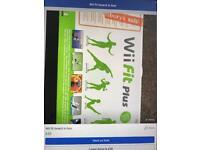 Wii fit board in box