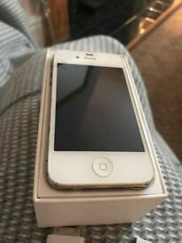 Apple iPhone 4S 16gb unlocked in white