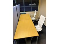 OFFICE SHARE TO LET 2 DESKS - IN SOUTH WOODFORD, LONDON, E18 - MAYBANK ROAD.