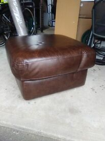 Leather Foot Stool