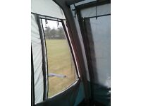 Vango Air Awning Varkala 150 porch style. Includes pump. Only used once.