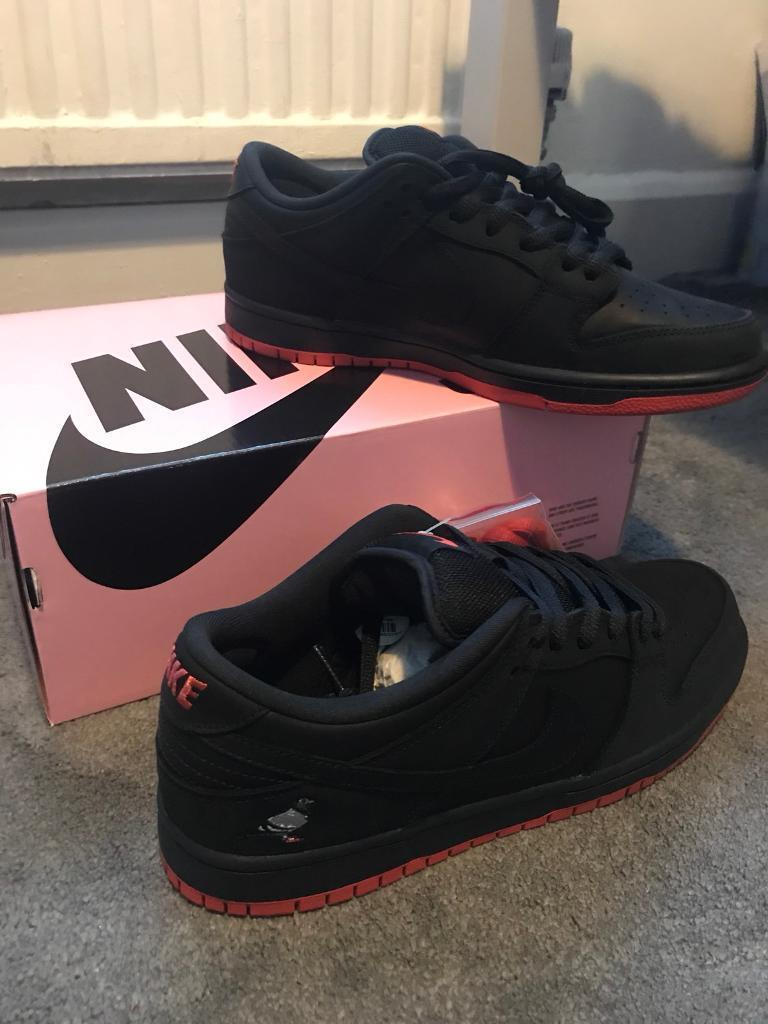 "Nike sb x Staple ""Black pigeon"" 2017 Size 8.5UK"