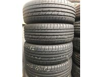 Part worn tyres from £15 fully fitted and balanced , 100s in stock
