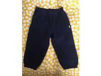 Ralph Lauren Navy Toddler Jogging bottoms