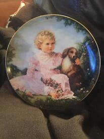 The barefoot children plate collection