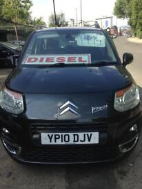Citroen C3 Picasso Exclusive HDI, 2010, 1.6 Diesel, 2 former keepers, long mot.