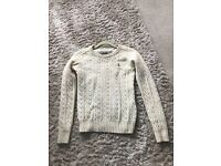 Jack Wills Cable Knit Jumper - Size 8