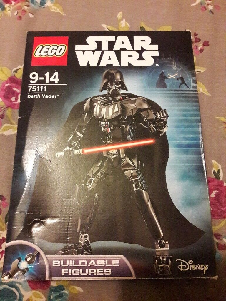 Lego Star Wars Darth Vader 9-14 yrs Complete Set boxed with instruction manual. As new
