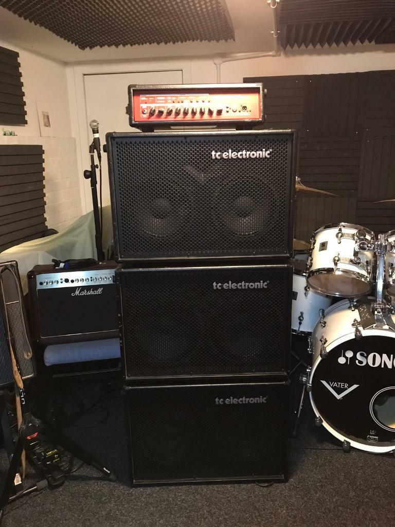 TC ELECTRONIC BASS AMP STACKin Armadale, West LothianGumtree - Selling my TC Electronic BH500 Stack with Hot Cover Protection Covers. This has served me well and can be used as a smaller amp rigg for a Club or large rigg for larger events.Included BH500 Head.Two 2 x 10 speaker cabs.One 2 x 12 Speaker cab.All...