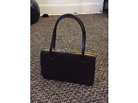 Lovely little brown vintage handbag