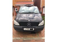 Mercedes-Benz Vito BlackCab Hackney (Taxi) 2.1 111CDI Traveliner Long Bus 5dr (8 Seat)