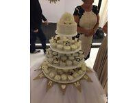 Cake / Cupcake 4 Tier Handmade Stand