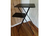 Two tier projector or laptop stand