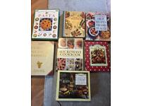 Cookery books job lot