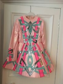 Irish solo dance dress