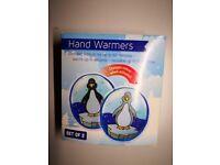 hand warmers - free