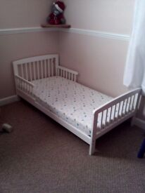 For sale First Bed with mattress.