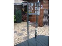 Wrought Iron Folding Display Stand