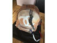 Fabric Chanel Backbag New