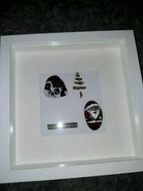 Hand painted pebbles Christmas theme
