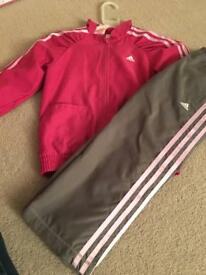 Girls Addidas Tracksuit