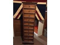 Lombok 10 drawer chest