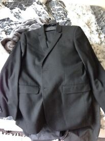 Mans River Island 2 piece suit