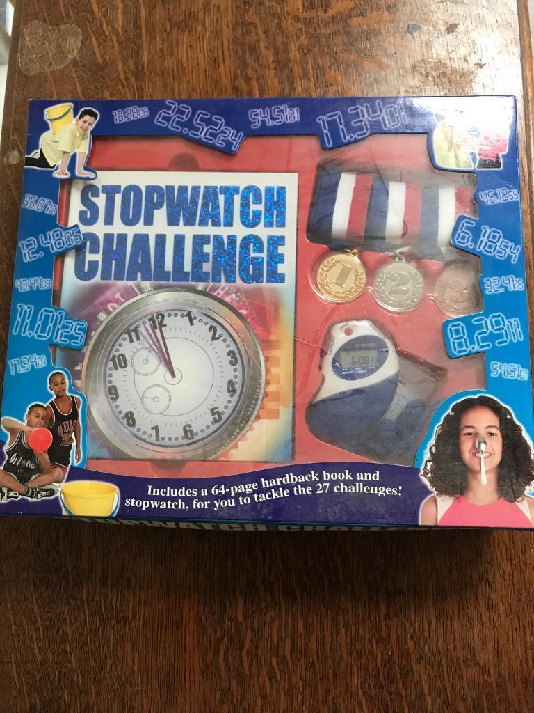 Stopwatch challenge game