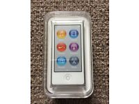 Apple iPod Nano 7th Generation White & Silver (16 GB) Brand New in original sealed packaging