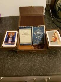 Antique card set