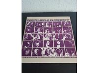 Deep Purple in Concert vinyl double gatefold album