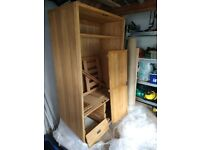 Double Wardrobe with 4 Drawers
