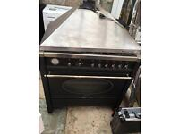 Smeg range oven with extractor. Fully working