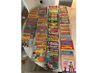 Comics Job Lot Conan,Krazy, Beano etc