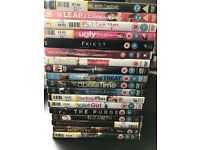 18 x DVDs IMMACULATE condition various titles. £10 the lot