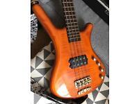 Warwick Corvette FNA 4-string Bass Guitar