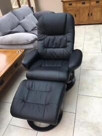 Arizona Recliner Chair and foot stool